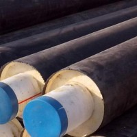 HDPE jacket pipe for preinsulated pipe