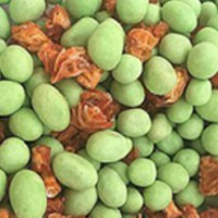 Plastic Hot Selling Cheap Wasabi Flavour Coated Peanuts Snacks For Sale Made In China