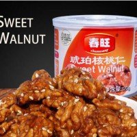 Chinese canned food sweet walnut kernel120g snack