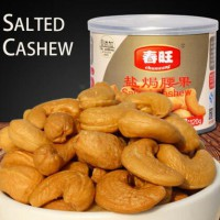 China canned food salty tasste cashew nuts snack 120g wholesale