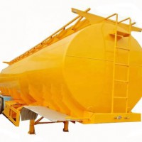 Aluminum Stainless Steel Tri-axle Oil Fuel Tank Trailer