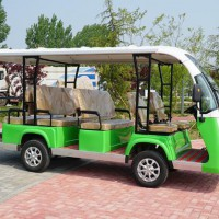 custom new energy electric four-wheeled sightseeing tourist bus car