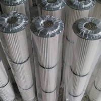 Filter element dust collector
