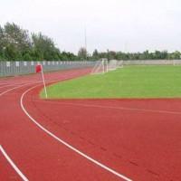 Composite plastic track