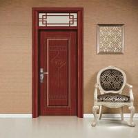 All aluminum interior door
