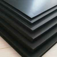 Black pvc board